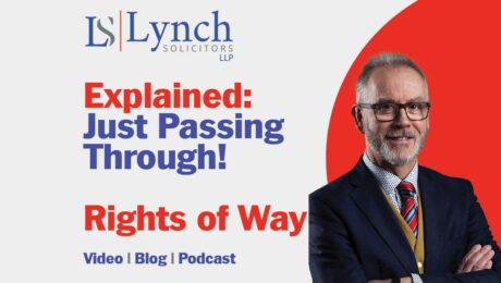 Just Passing Through Rights of Way Explained